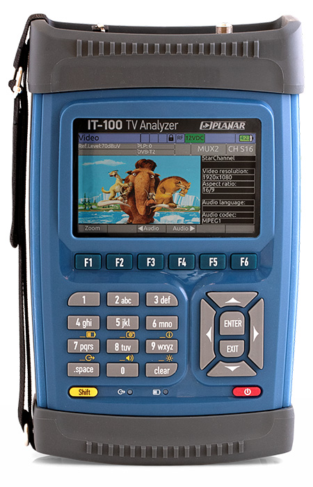 IT-100 Multisystem Signal Analyzer