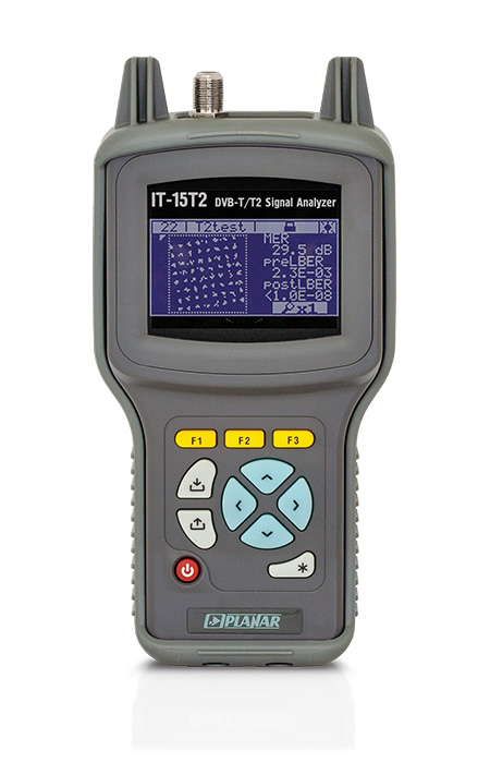 IT-15T2 DVB-T2 Signal Analyzer