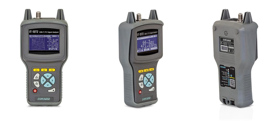 IT-15T2 DVB-T2 Signal Analyzer